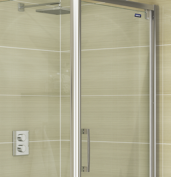 Glide Minima - 8mm Pivot Door & Side Panel - Reversible